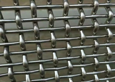 Stainless Steel Crimped Wire Mesh With 4 mm Wire Diameter With 1 . 5 m × 2 m Size