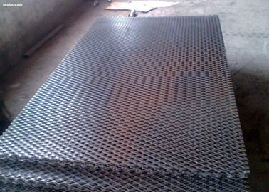0.6mm - 2mm Thickness Expanded Metal Mesh Galvanized Flattened Diamond Hole For Fence Guard