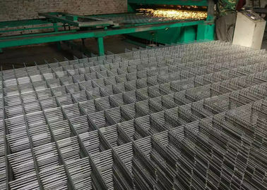 4 mm Diameter Black 100 mm Welded Wire Mesh Panels Size Square Transportation