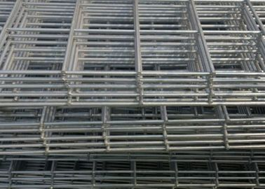 China 4x4 Square Black Welded Wire Mesh Panels PVC Coated Spot For Concrete factory