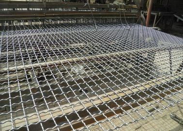 Galvanized Crimped Wire Mesh For Vibrating For BBQ Net With 1mm-8mm Wire