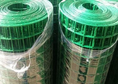 China Rabbit / Chicken Cage PVC Coated Welded Wire Mesh Anti - Corrosive ISO SGS Listed factory