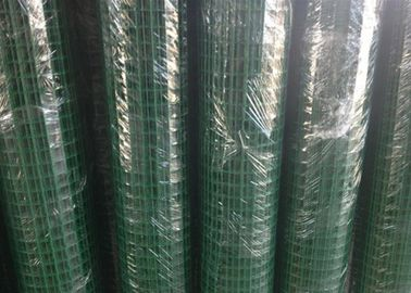 China Green Hole PVC Wire Mesh Fence Panels Spot Welding For Highway / Warehouse factory