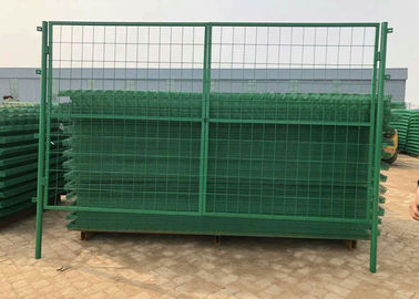 China Green Pvc Coated Welded Wire Mesh Fence For Parks / Zoos / Nature Reserves factory