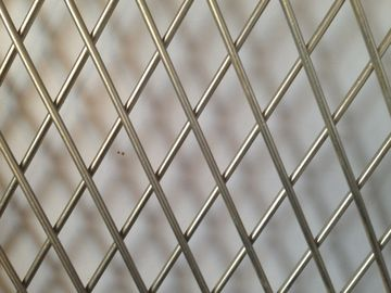 China OEM Factory Aluminium Expanded Metal Mesh Small Hole For Decoration factory