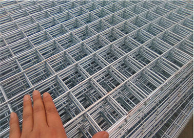 China 4 x 4 Inch Rebar Welded Wire Mesh Panels 2 M x 4 M For Building Construction factory
