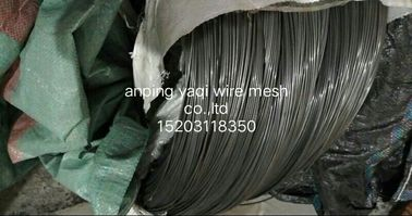 China High Carbon Spring Steel Wire Black Steel wire 2.5mm For Supporting Mosquito Net Tent factory