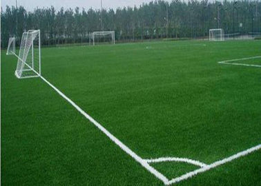 Football Plastic Fake Natural Looking Artificial Grass 50 Mm With Good Backing