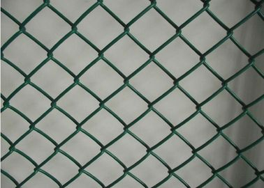 China Plain Woven Diamond PVC Chain Link Security 4.5MM*5CM*5CM*1.8M*30M factory