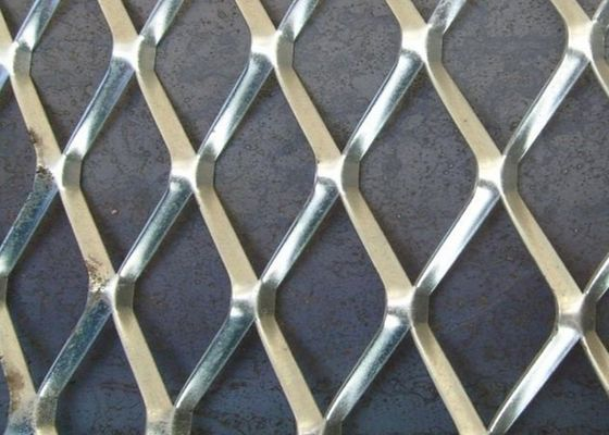 China 0.3MM STRAND *2.3CM*4CM Aliminum Expanded Metal Mesh /10MM*20MM Hot Dipped Galvanized Mesh factory