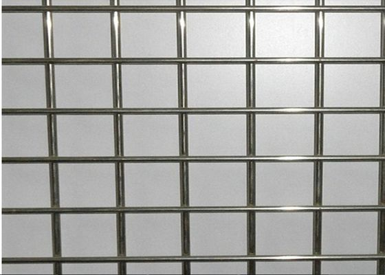 China Deformed Galvanized Welded Wire Mesh Panel For Building 4.5MM*100MM*100MM factory