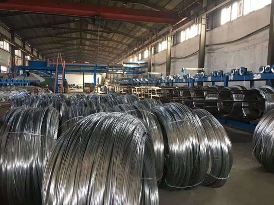China High Carbon Spring Steel Wire Black Oiled or Galvanized 1.0 mm Flexible Duct factory