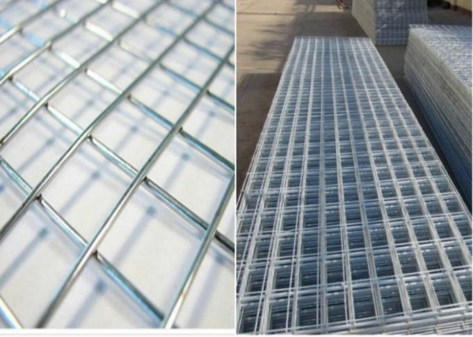 1x2 Reinforcing Woven Welded Wire Mesh Panels Sheets For Concrete