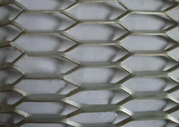 Aluminium Expanded Metal Sheet , SWO *LWO(2.3*4) *0.3MM Strand Width Expanded Metal Sheet Roll