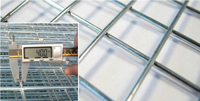 1 . 0 mm Diameter Industrial Wire Mesh Grid Reinforcement For Concrete Slab