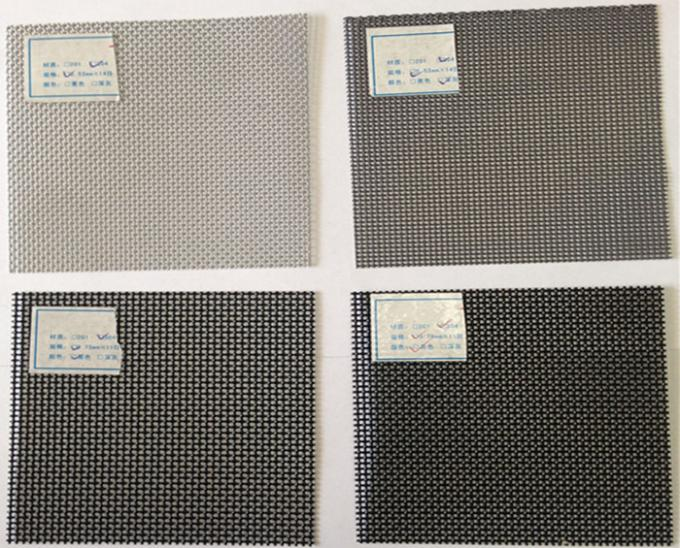 Stainless Steel Security Window Screens Fiberglass Plastic With 18 X 16 Mesh
