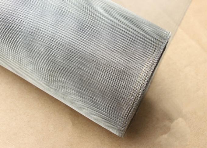 Invisible 16 x 16 Mesh Fiberglass Window Screen / Anti - theft Mesh Screen