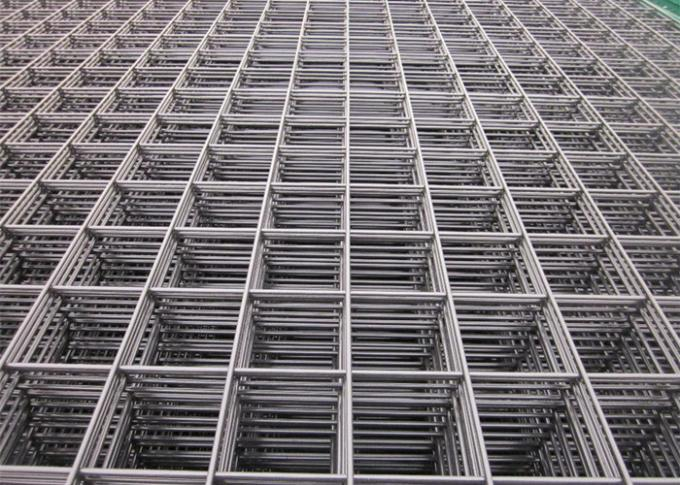 Industrial Welded Wire Cage Panels , Tunnel Rigid Wire Fence Panels