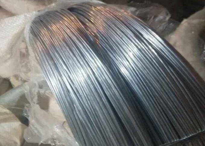 0.9mm * 2kg Low Carbon High Tensigle Electric Galvanized Steel Wire Suitable For Iraq Market