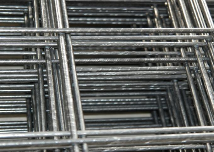 4x4 Square Black Welded Wire Mesh Panels PVC Coated Spot For Concrete