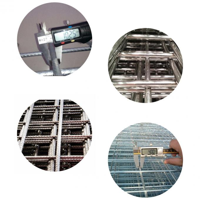 2 . 2 MM Welded Wire Mesh Panels Corrosion Resistance For Construction