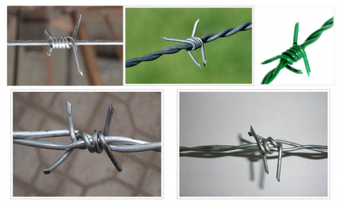 Hot Dipped Galvanized Barbed Wire Corrosion Reistance for Agricultural Fencing