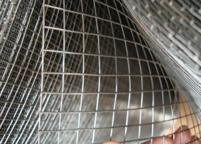 Electric Galvanized Welded Wire Mesh Woven Technique 0.3mm-5.0mm Thicknedd