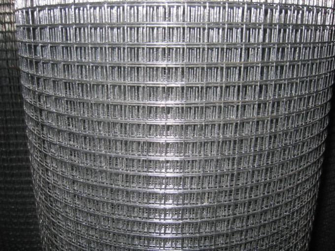 Electronic Galvanized Welding Wire Mesh 1/2 Inch , Gi Wire Mesh 0.6m -2m Width