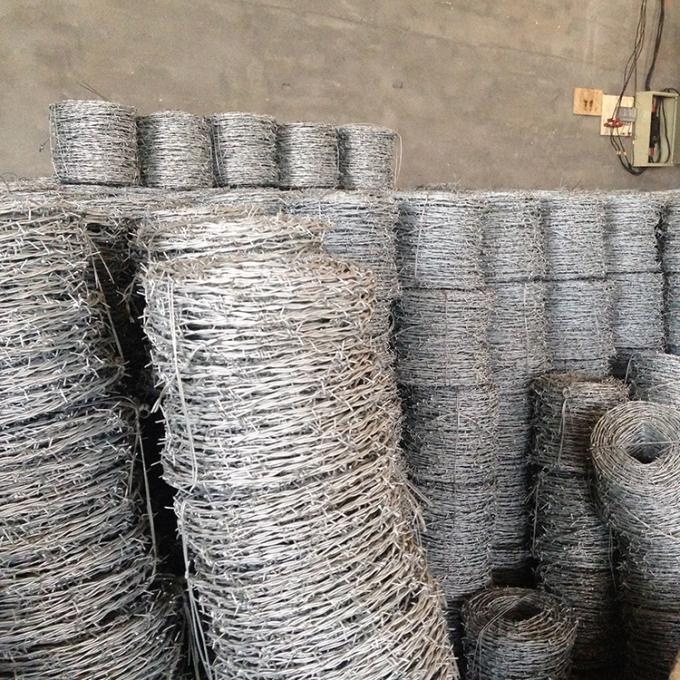 Hot Dipped Galvanized Concertina Barbed Wire ,  Jail Barbed Iron Wire