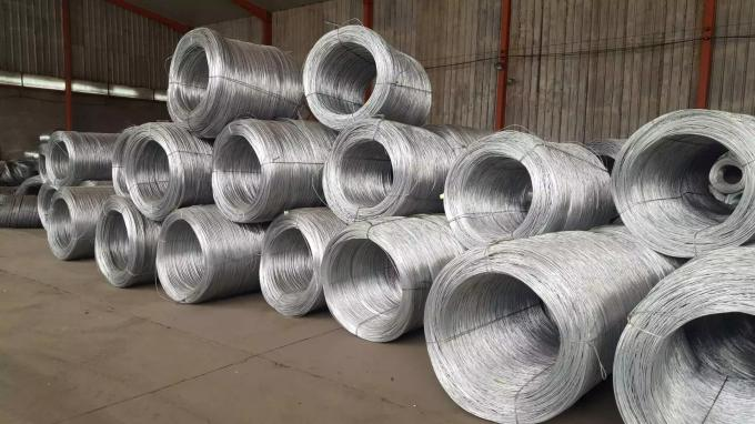 Galvanized High Carbon Spring Wire , Carbon Steel Welding Wire 0.2mm-4mm