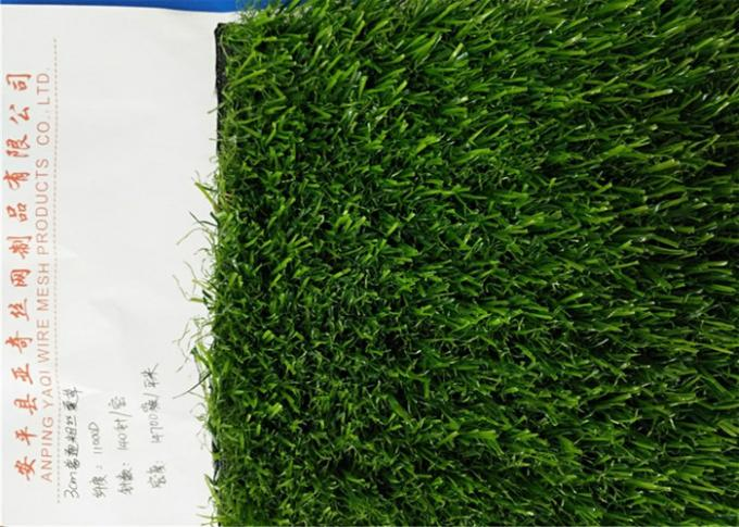 Anti - UV Durable 3.0 MM Realistic Artificial Grass / Artificial Putting Turf  For Balcony