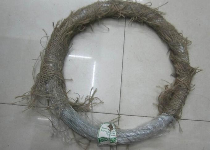 12 Gauge Low Galvanised Binding Wire Electric Galvanized Loop Type Sliver Color