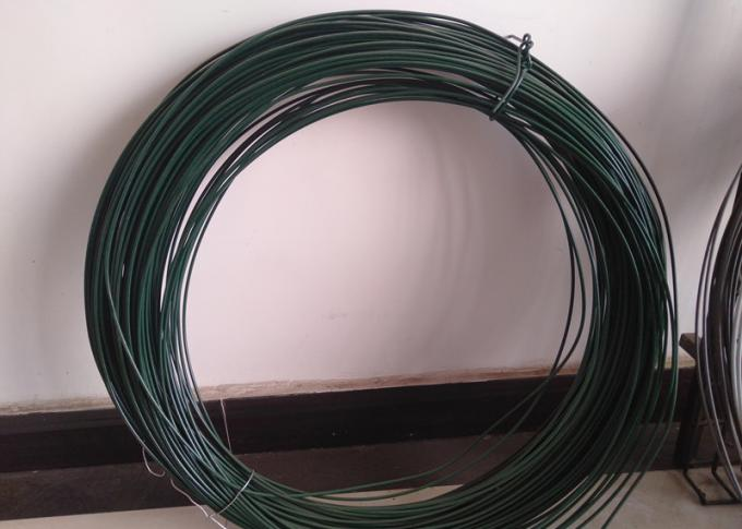 2.5MM * 25KG / Roll Pvc Coated Iron Wire Untreated Surface For Chain Link Fence