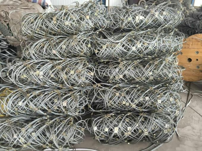 SNS Slope 1770MPA Rockfall Protection Steel Wire Mesh Fence Corrosion Resisting