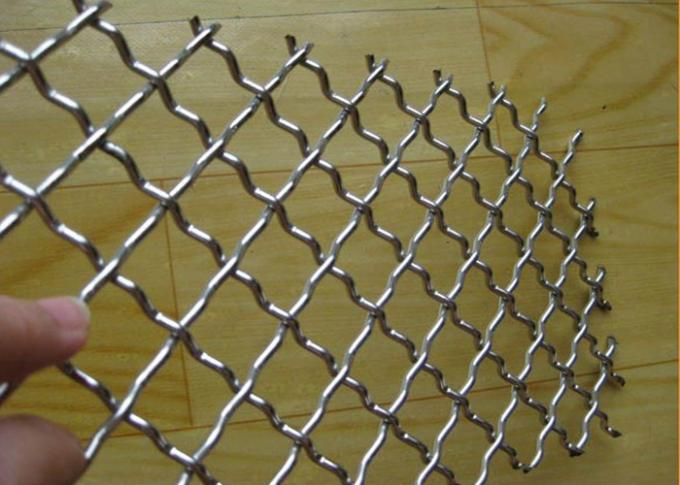Professional Stainless Steel Woven Screen Wire Mesh 2.0MM*25MM*25MM *1M*20M